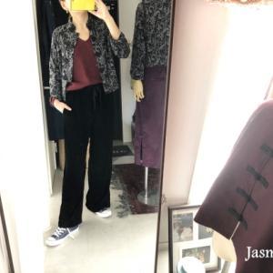 人気のチャイナカーディガンを着てます。(動画あり)