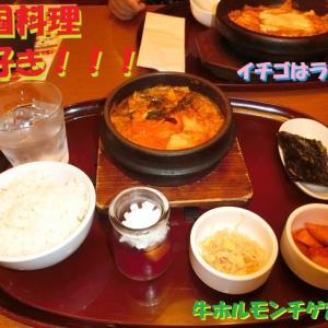 墓参りの後に韓国料理
