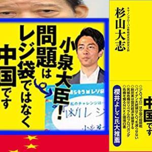 小泉進次郎大臣    問題はレジ袋ではありません。  中国です。