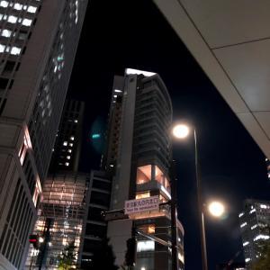 一瞬通る東京駅