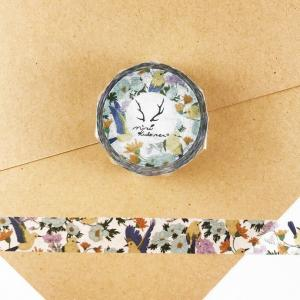 小鳥とお花のマスキングテープ