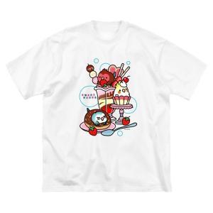 1000円引きセール中 インコ・スウィーツ & マーメイドインコ ビッグシルエットTシャツ 3月23日(月)まで