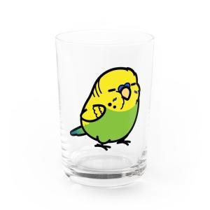 大型セキセイインコ マグカップ&グラス