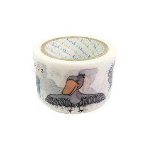 鳥の絶滅危惧種 マスキングテープ