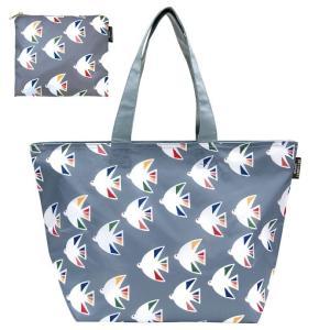 海鳥の保冷レジカゴバッグ