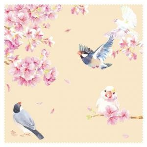 メガネ拭き 文鳥 & ヨウム