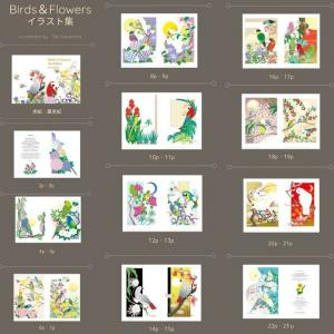 鳥さんいっぱい! あトリえのイラスト集とクリアファイルが再入荷しました。 & タイムセール更新!
