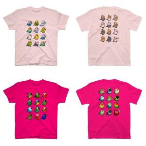 鳥さんのTシャツやパーカー他、700円引きセール