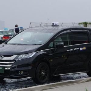 新型オデッセイのかまぼこ個人タクシー!