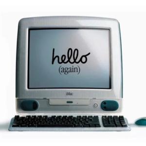 1998年初代iMac