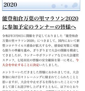 圭ちゃんの能登和倉万能の里マラソン2020開催中止記