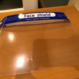 圭ちゃんFace shieldを…