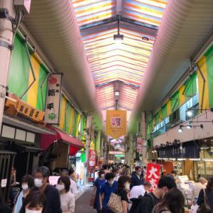 4連休最終日の近江町市場