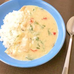 大豆ミートのホワイトシチュー