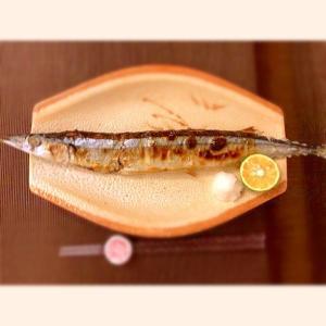 今が旬!秋刀魚の塩焼き