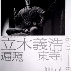 立木義浩写真展へ 孫と植えたアサガオが( ^ω^)・・・