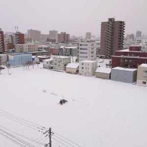 札幌は雪道になりました…赤帽札幌シェルパ