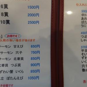 JR小樽駅の中にある高級立ち食い寿司…赤帽札幌シェルパ