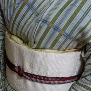 自作の布を纏うお手伝い