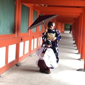 成人式前撮り、奈良ロケ撮