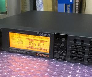 レトロゲームやりたい!:MIDI音源対応のレトロゲームをやりたい? RolandのSC-55mk2を付けてみたよ!