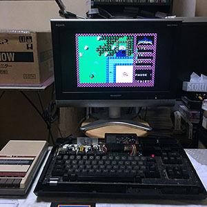 レトロゲームやりたい!:画面が映らなくなった?! MSXの修理の対応です