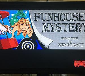 105回はスタークラフトの PC88版「ファンハウスミステリー」絵が別格に良くて名作ADVだ!