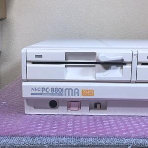 レトロゲームやりたい!:PC8801MAの修理とホワイトニングで綺麗に!