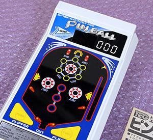 レトロ電子ゲーム機:トミー エレクトロニクスゲーム ピンボール!当時のお値段8000円!デッドストック物で新品だけど整備が必要で直しました(^^)