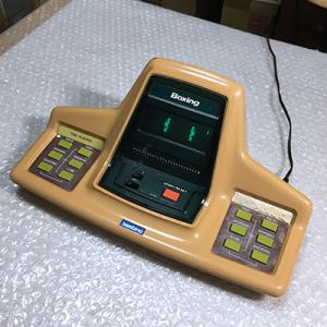 レトロ電子ゲーム機:バンビーノ ボクシング!さすが海外メーカーの電子ゲーム機だね