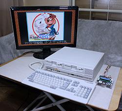 レトロゲームやりたい!:PC8801を独自のホワイトニング技術でピカピカにレストアするぞ!