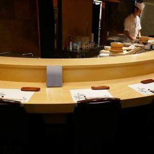 新橋 鮨 品数多数 さざ波でディナー