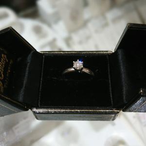 指輪をリフォーム ティファニーのバイザヤード風のネックレスに