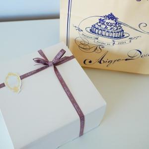 目白 エーグルドゥース シャンティフレーズの誕生日ケーキ