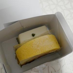 赤坂 老舗洋菓子 しろたえ レアチーズケーキ