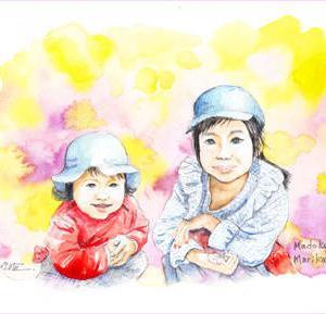 ◆ お孫さん・似顔絵・その2 ◆
