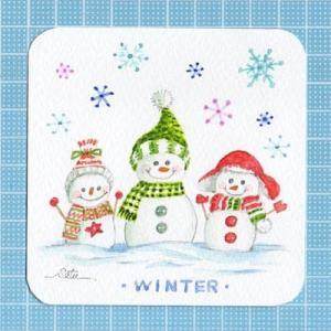 ◆ 雪だるま・3兄弟 ◆