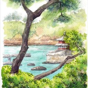 ◆五浦海岸・六角堂◆