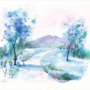 ◆ 筑波山・青い風景 ◆