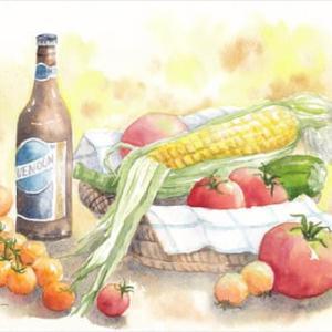 ◆ 夏野菜スケッチ ◆