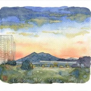 ◆つくば市・学園南・夕景◆