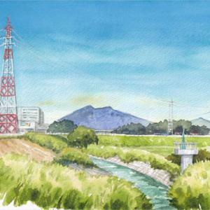 ◆筑波山見える所・清水橋から◆