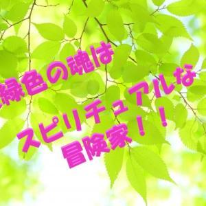 魂が黄緑色の人の特徴は「スピリチュアルな冒険家!!」~!~
