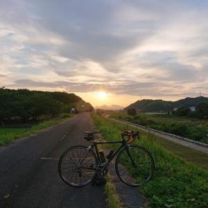 夕暮れライド・57キロ_20210727(火)