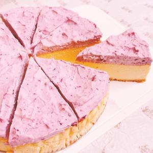 『ブラックベリー ニューヨークチーズケーキ』