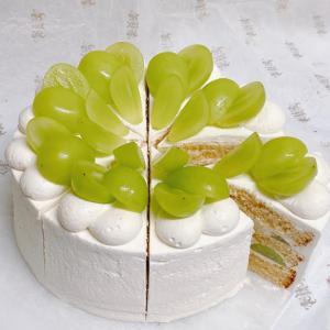 『横瀬産シャインマスカットのショートケーキ』