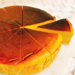 『かぼちゃのバスクチーズケーキ』