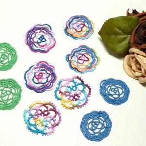 絹糸とコットン糸