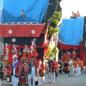 日本遺産認定後、キリコ祭り注目浴びてます(14,15の祭り)
