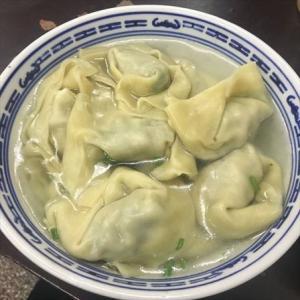 食遊上海569 『盛興点心店』 - 下町の超巨大白玉団子とナズナワンタン!